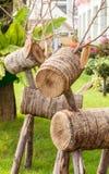 Wood raring Fotografering för Bildbyråer