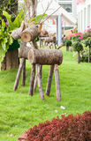 Wood raring Royaltyfria Bilder