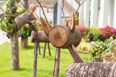 Wood raring Arkivfoton