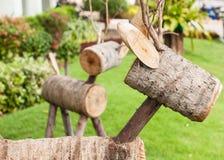 Wood raring Royaltyfri Fotografi