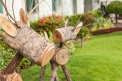 Wood raring Royaltyfria Foton