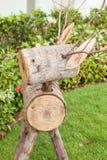 Wood raring Royaltyfri Foto