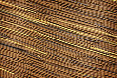 Wood, rattan texture Royalty Free Stock Photos
