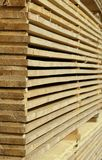 Wood raw material Stock Image