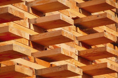 Wood Ready for Market Stock Photography