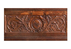 Wood relief Royalty Free Stock Images