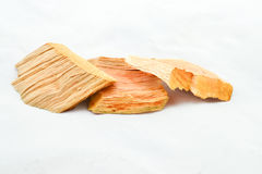 Wood residues Royalty Free Stock Images
