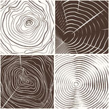 Wood rings texture background Stock Photos