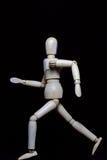 Wood robot Arkivfoto