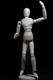 Wood robot Fotografering för Bildbyråer