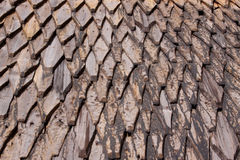 Wood roof Royalty Free Stock Photos