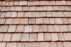 Wood roof Royalty Free Stock Photo