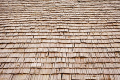Wood roof Royalty Free Stock Image