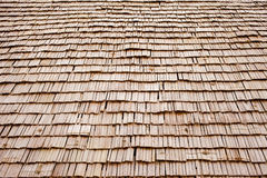 Wood roof Royalty Free Stock Images