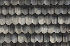 Free Wood Roof - Old Traditional Method For Roofing - Roof Shingles Royalty Free Stock Images - 121929679