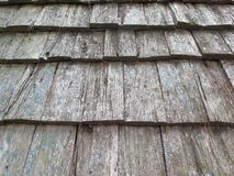 Wood roofing pattern detail Stock Photos