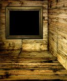 Wood room Royalty Free Stock Photos