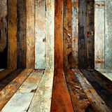 Wood room. Stock Image