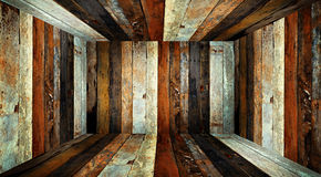 Wood room. Stock Images
