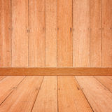 Wood room for background and architecture Stock Images