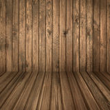 Wood room. Wooden room light brown colours Royalty Free Stock Photography