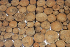 Wood Round Royalty Free Stock Image