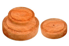Wood round cut Royalty Free Stock Image
