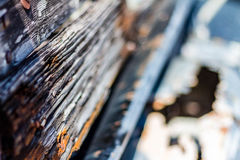 Wood and rust Royalty Free Stock Photo