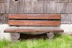 Wood's bench Royalty Free Stock Images