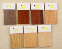 Wood samples Stock Image