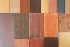 Wood samples Royalty Free Stock Photos