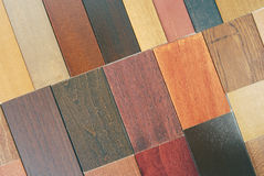 Wood samples Stock Image