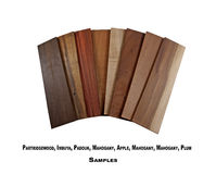Wood samples Stock Images