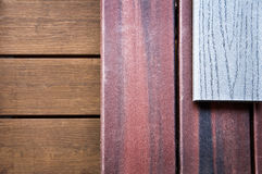 Wood samples Royalty Free Stock Photography