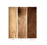 Wood samples,Yew, Cherry and Mahogany Royalty Free Stock Photography
