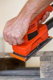 Wood sanding Stock Photos
