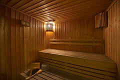 Free Wood Sauna Room Royalty Free Stock Photos - 74012848