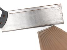 Wood Saw Royalty Free Stock Images