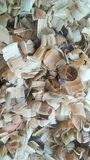 Wood Sawdust natural texture stock images