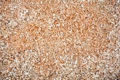 Wood sawdust Stock Photo
