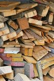 Wood Scraps Stock Photo