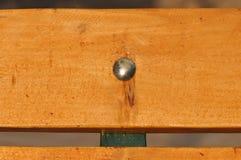 Wood screw. Macro detail of a wood screw Royalty Free Stock Image