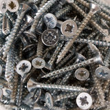 Wood screws Royalty Free Stock Image