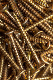 Wood screws Stock Images