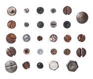 Wood Screws Stock Image