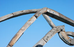 Wood sculpture Stock Photo