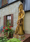 Wood Sculpture Royalty Free Stock Image
