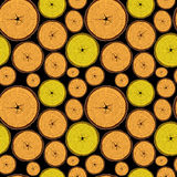 Wood seamless pattern. Abstract texture; vector art illustration Royalty Free Stock Photo