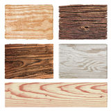 Wood set Royalty Free Stock Image