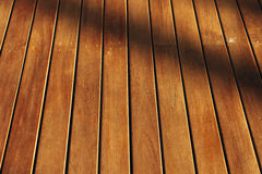 Wood and shadow Royalty Free Stock Photos